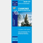 Chamonix 3630OT - Carte IGN TOP25