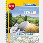 Atlas Italie 2014 - Atlas routier spirale Recto