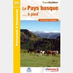 Le Pays Basque à pied - Guide ffr