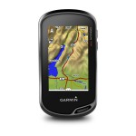 Garmin Oregon 750 - Vue de Face - Carte