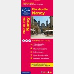 Plan de ville IGN - Nancy - Recto