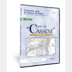 DVD Carte de  Cassini (France XVIIIème) 2015
