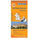 Carte Régionale Michelin - Angleterre Nord