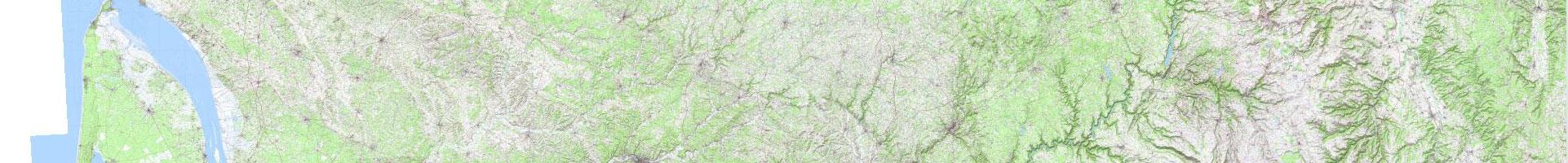Carte topographique IGN 1er niveau d'agrandissement