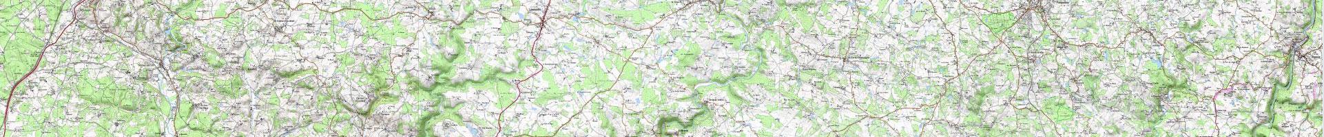 Carte topographique IGN 2e niveau d'agrandissement