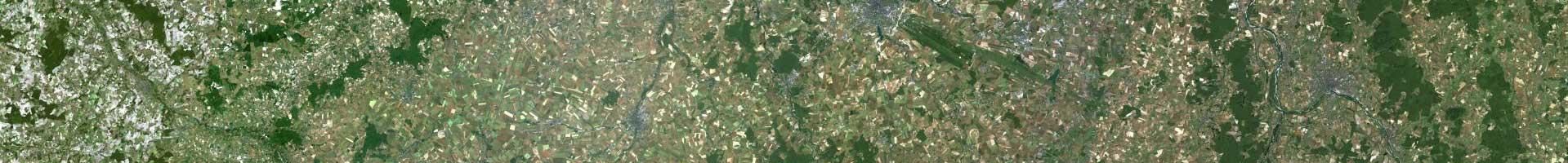 Photo aérienne IGN 2e niveau d'agrandissement