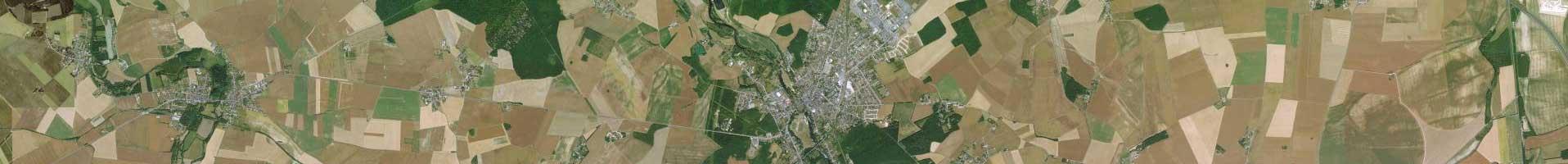 Photo aérienne IGN 3e niveau d'agrandissement