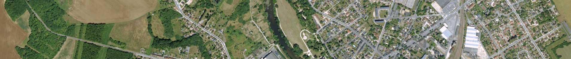 Photo aérienne IGN 4e niveau d'agrandissement